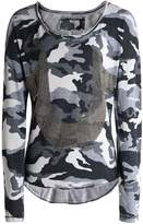 True Religion Long Sleeve Horseshoe Camo T-Shirt