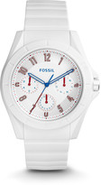 Fossil Poptastic Sport Multifunction White Silicone Watch