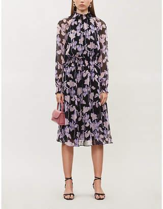 Diane von Furstenberg Athena floral-print silk-chiffon midi dress