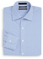 Saks Fifth Avenue Slim-Fit Gingham Check Cotton Dress Shirt