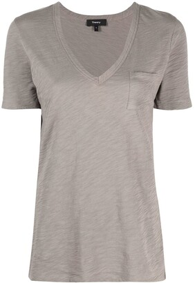 Theory V-neck short-sleeve T-shirt