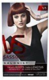 Vidal Sassoon Salonist Hair Colour Permanent Color Kit, 5/5 Medium Reddish Brown