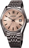August Steiner Women's Quartz Stainless Steel Casual Watch, Color:Grey (Model: AS8235GN)