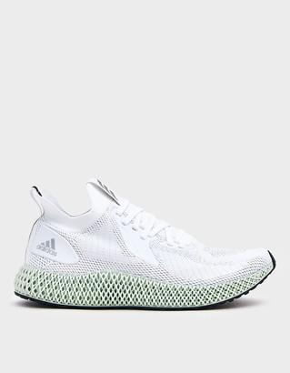 adidas Men's Alphaedge 4D Sneaker in White, Size 5