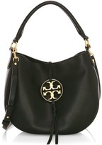 Tory Burch Mini Miller Metal Leather Hobo Bag