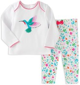 Kate Spade Girls' Hummingbird Pajama Set