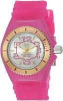 Technomarine Women's TM-115132 Cruise Jellyfish Analog Display Swiss Quartz Pink Watch