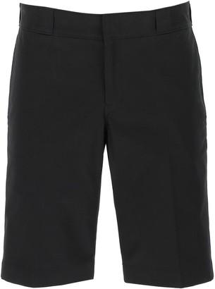Prada Logo Patch Knee-Length Shorts