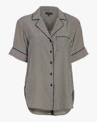 Rag & Bone Luca Short-Sleeve Pajama Top