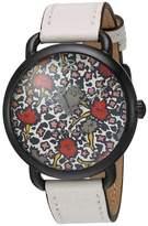 Coach Women's Delancey 36mm Leather Band Steel Case Quartz Watch 14502729