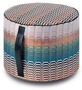 Missoni Santa Fe Seattle Cylindrical Floor Pouf