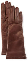 Portolano Nappa Leather Gloves, Brown