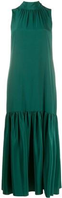Tibi Sleeveless Drop-Waist Dress