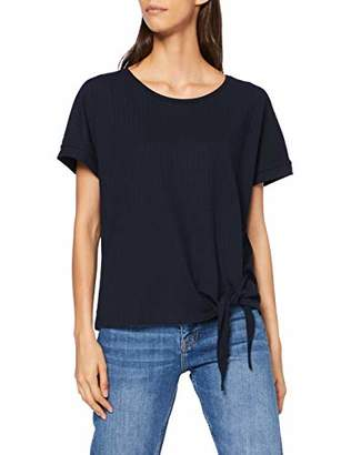 Tom Tailor Casual Women's Detailliertes T-Shirt,Small