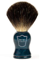 Parker Blue Wood - Black Badger Brush by 1 Shave Brush)