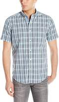 Nautica Men's Union Plaid Short Sleeve Shirt