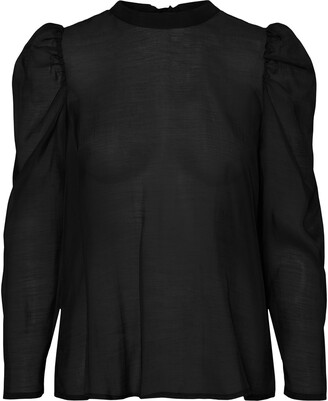 AWARE BY VERO MODA Melonie Back Tie Blouse