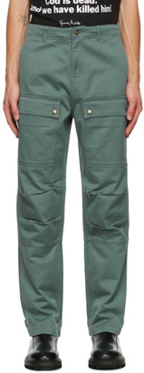 Vyner Articles Blue Wit Cargo Trousers
