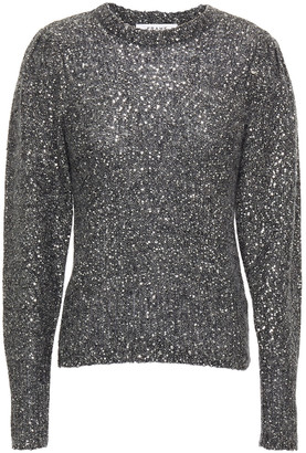 Frame Sequin-embellished Knitted Sweater