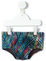 Lygia E Nanny Kids printed swim trunks