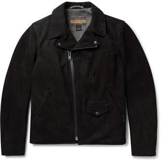 Schott Perfecto Suede Biker Jacket