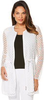 Rafaella Geo Lace Long Jacket