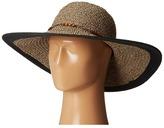 San Diego Hat Company UBL6472 Ultrabraid Sunbrim w/ Wooden Beaded Trim Caps