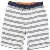 """Nautica Quick Dry 21"""" Chevron Stripe Board Short"""