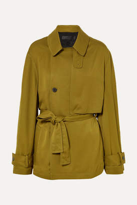 Haider Ackermann Belted Twill Jacket - Gold