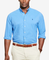 Polo Ralph Lauren Men's Big & Tall Striped Stretch Performance Shirt