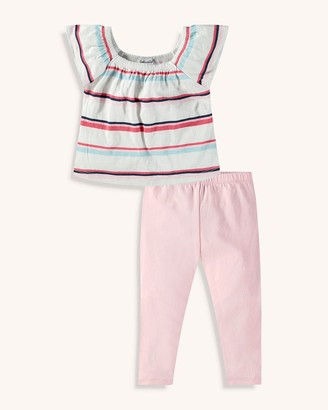 Splendid Baby Girl Multi Stripe Top Set