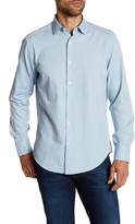 Robert Barakett Carlton Long Sleeve Sport Shirt