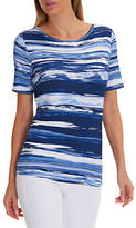 Betty Barclay Striped T-Shirt, Blue