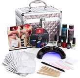 Red Carpet Manicure LED Nail Gel Train Case Kit