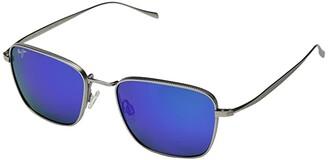Maui Jim Spinnaker (Titanium/Blue Hawaii) Athletic Performance Sport Sunglasses