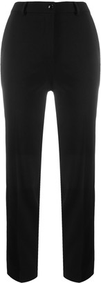 Boutique Moschino Cropped Straight-Leg Trousers