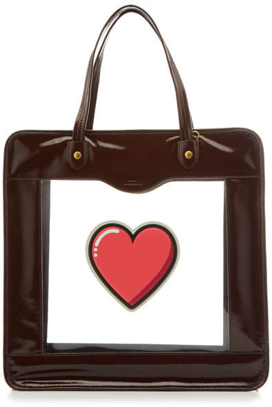 Anya Hindmarch Rainy Day Tote with Leather