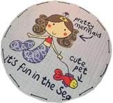 Kylin Express Colorful Baby Crawling Mat Carpet Children Bedroom Carpet Living Room Rugs Mermaid