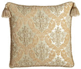 Dian Austin Couture Home Florentine Brocade European Sham with Braided Cord & Tassels