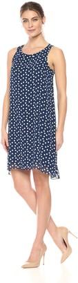 Lark & Ro Amazon Brand Women's Sleeveless Trapeze Dress