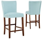 "Homelegance Livonia 24"" Counter Stool Wood (Set of 2)"