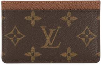 Louis Vuitton Pre-Owned small monogrammed cardholder