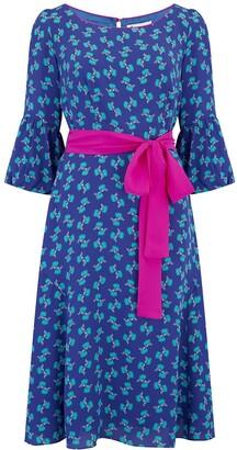 Libelula Bearob Dress Blue Hiawatha Print