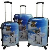 Chariot Dreaming Dog 3-piece Luggage Set