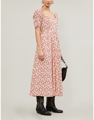 Free People Shes a Dream floral maxi dress