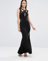 TFNC Cut Out Detail Maxi Dress