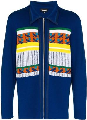 Ahluwalia Gabbo merino wool-blend cardigan