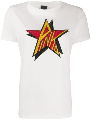Pinko star print T-shirt