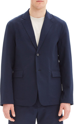 Theory Men's Saratoga Two-Button Crushed Seer Blazer