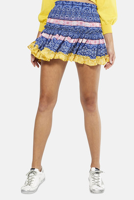 MISA Tile Print Mix Marion Skirt